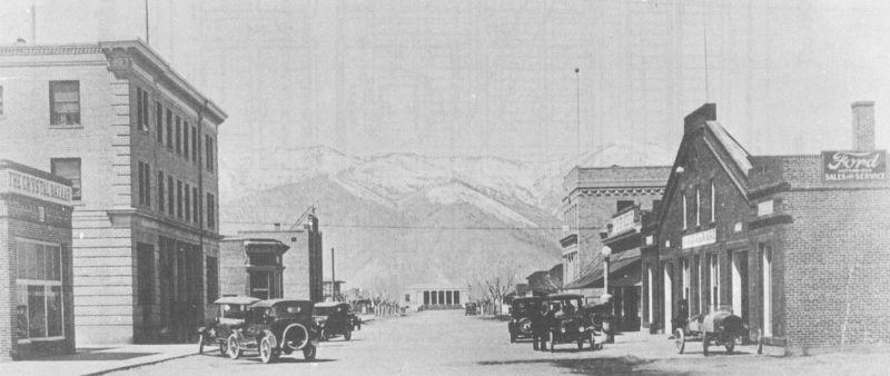 Downtown minden then and now around carson for Depot minden