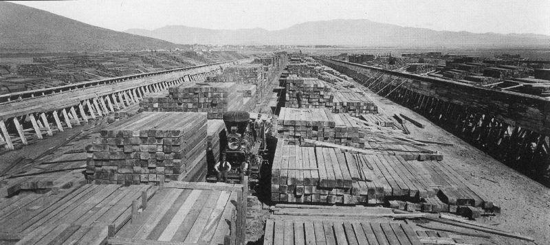 Carson-Tahoe Lumberyards Then and Now – Around Carson