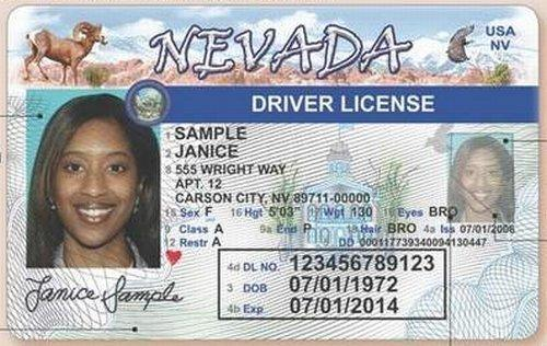 Photo New Around License Photos From Driver's Carson Details